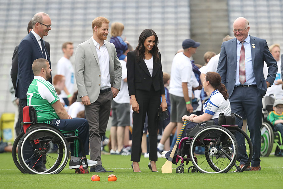 Prince Harry and Meghan in Dublin