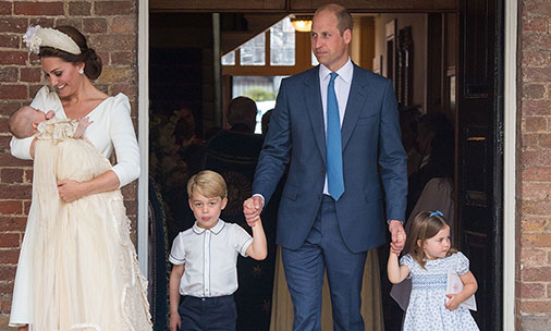 Prince Louis' christening photos were taken at lightning speed – here's how we know