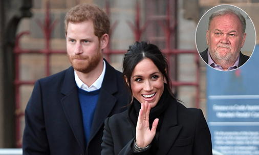 Thomas Markle's birthday wish is to reconnect with daughter Meghan