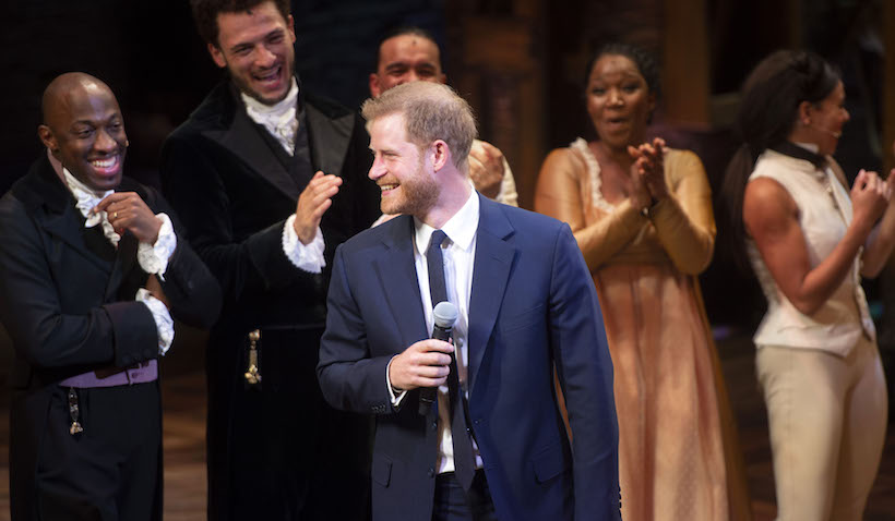 Watch: The very surprising public move Prince Harry made ...
