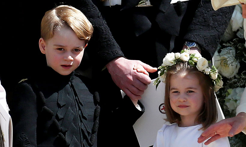prince george princess charlotte bridal party