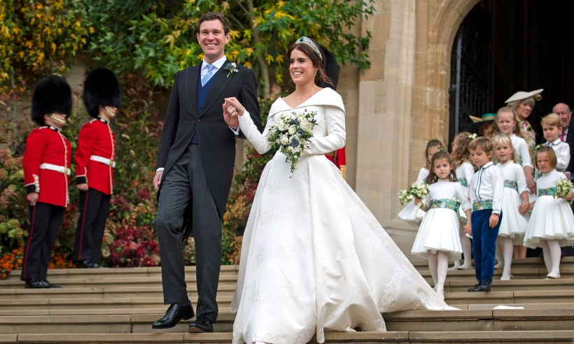 Two Key People Are Missing From Princess Eugenie S Royal