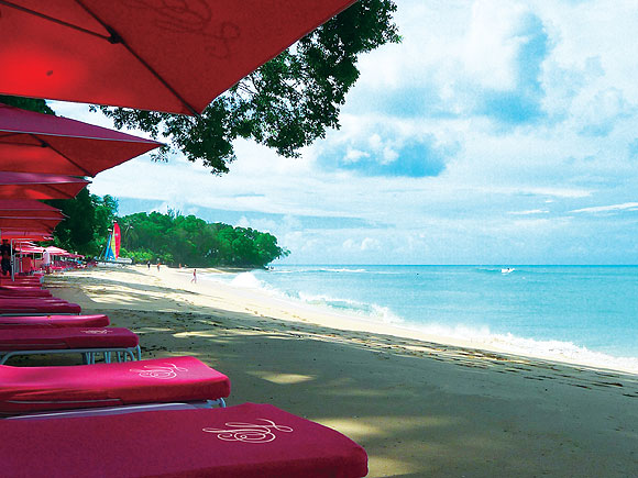 The Sandy Lane resort, Barbados