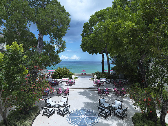 The Sandy Lane resor, Barbados
