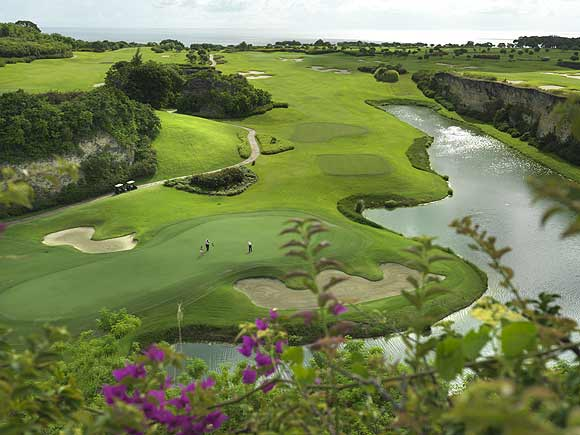 The Green Monkey golf course, Sandy Lane, Barbados