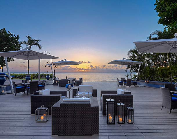 The House deck, Barbados