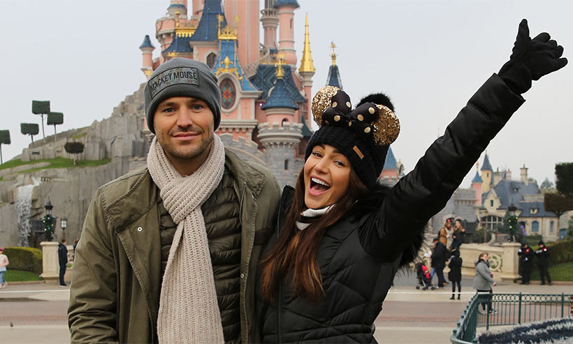 Michelle-Keegan-Mark-Wright-disneyland-paris
