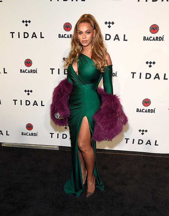 beyonce tidal event
