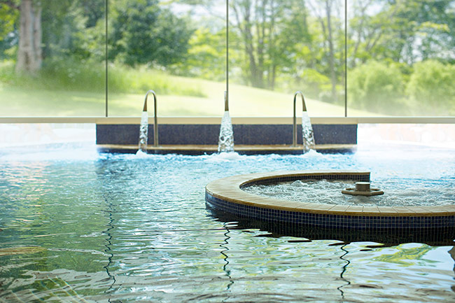 Hydrotherapy Pool at Aquarias Spa Whatley Manor