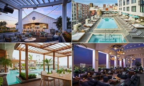 These hotels have the best rooftops and pool parties this summer