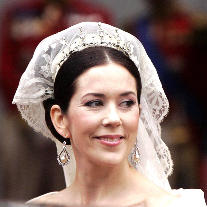 When the elegant Princess Mary wed into Denmark's royal family, she did so wearing a tiara gifted to her by her new in-laws: Queen Margrethe and Prince Henrik.