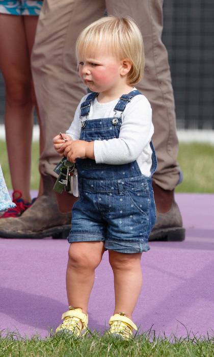 Running around with her cousins Isla and Savannah Phillips, the cutie enjoyed her day out at the Festival of British Eventing in August 2015. 