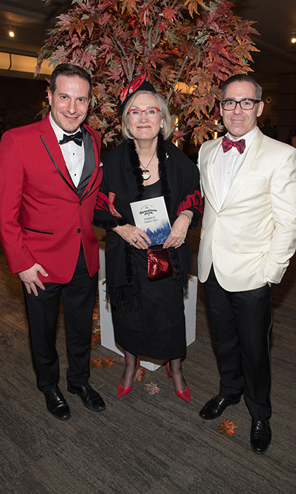 <p><strong>National Ballet School Canadiana Gala</strong></p><p>Marco Mendicino MP, The Hon. Carolyn Bennett and John Dalrymple</p><p>Photo: © Ryan Emberley</p>