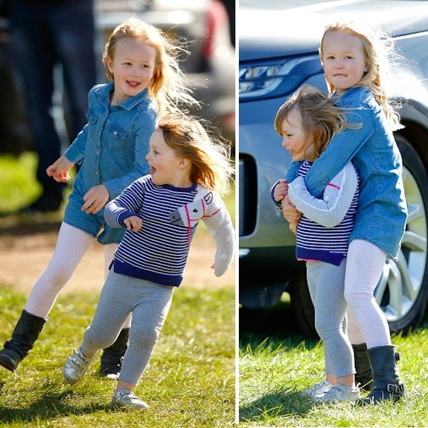In March 2017, Mia horsed around with her six-year-old cousin Savannah at the Gatcombe Horse Trials. The tiny royal had no problem entertaining herself in between her mom Zara's appearances at the competition.The annual equestrian event takes place on the grounds of Princess Anne's country estate. 