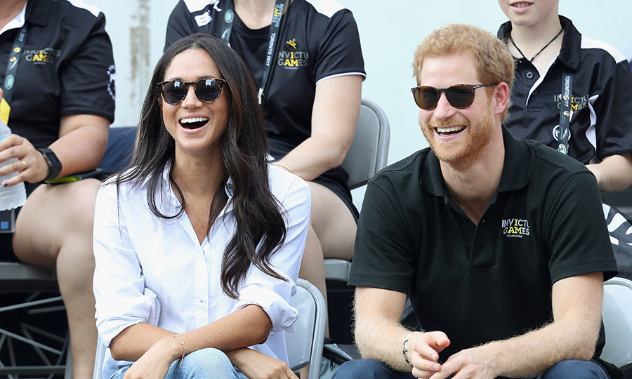 "This summer Meghan addressed the baggage that comes with dating a Prince. In a first for a potential royal bride she gave an interview to Vanity Fair, saying: ""Right out of the gate it was surprising the way things changed. But I still have this support system all around me, and, of course, my boyfriend's support.""