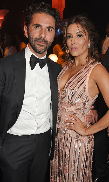 <h2>Eva Longoria and Jose 'Pepe' Bastón</h2>