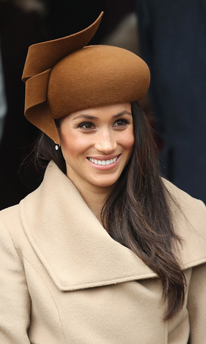 All eyes were on Meghan Markle on Christmas Day, as she accompanied her new fiancé Prince Harry and future in-laws the Duke and Duchess of Cambridge as they walked to St Mary Magdalene Church in Sandringham for the festive service. It was the first time the young royals had ever appeared in public together. There is one item that stood out beyond measure - Meghan Markle's stunning hat. The chestnut design was made by renowned milliner Philip Treacy, who produces many of the royal's elaborate hats. His stunning creations feature feathers, ribbons, sequins and 3D effects, and you can instantly tell a Philip Treacy design as soon as you see it. It's not just Meghan Markle who is a fan - the esteemed milliner makes headgear for popstars, actresses and the Hollywood elite. We have rounded up some of the designers biggest fans, and some may surprise you..