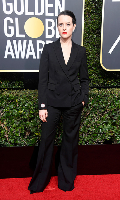 <h4>Claire Foy</h4>