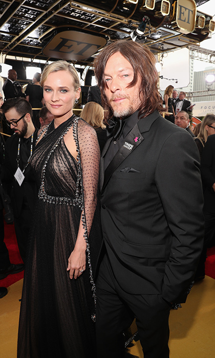 <h4>Diane Kruger and Norman Reedus</h4>