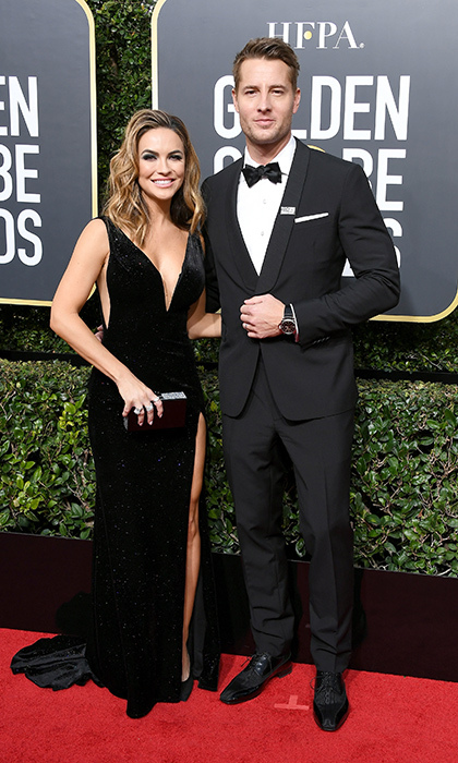 <h4>Chrishell Stause and Justin Hartley</h4>