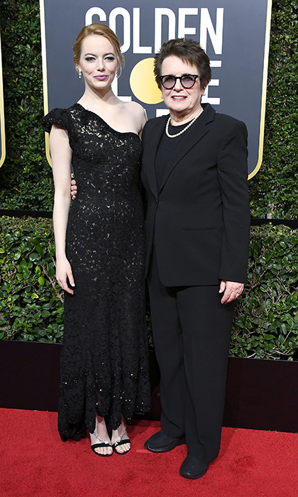 <h4>Emma Stone and Billie Jean King</h4>