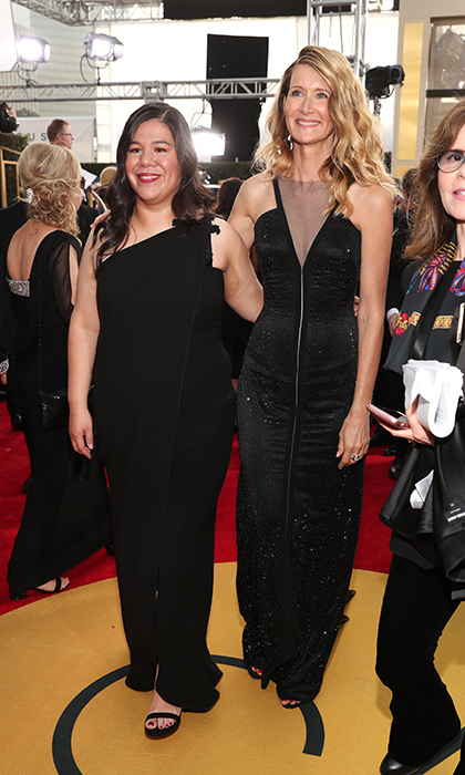<h4>Monica Ramirez and Laura Dern</h4>