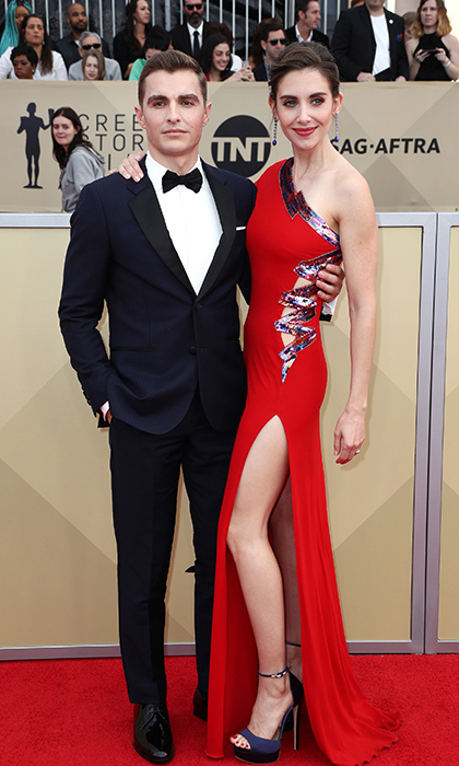 <h2>Dave Franco and Alison Brie</h2>