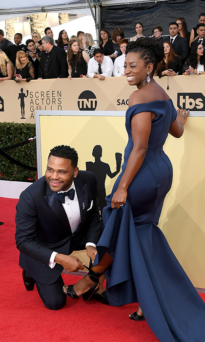 <h2>Anthony Anderson and Alvina Stewart</h2>