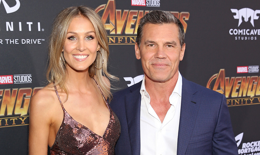 <h2>Kathryn Boyd and Josh Brolin</h2>