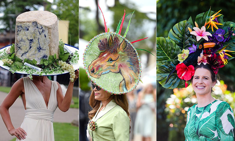 89f16a3f7 The most outrageous Royal Ascot hats ever - HELLO! US