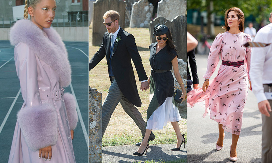 August can be a quiet month on the royal front, but that doesn't mean their style choices are any less exciting! From the Spanish women's vacation wear in Mallorca to Copenhagen Fashion Week and the odd high-profile wedding, we've rounded up all the best sartorial moments this month! Click through to see them all...