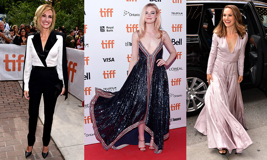 The 2018 Toronto International Film Festival kicked off with a bang on Thursday (Sept. 6) night, from the red carpet at <em>Greta</em> (Chloë Grace Moretz in Canadian-born designer Erdem? Yes please!) to the opening night gala presentation of <em>Outlaw Kings</em> (Chris Pine and Aaron Taylor-Johnson? Check!). And it only got more star-studded from there! From Lady Gaga and Bradley Cooper to Nicole Kidman, Natalie Portman and Salma Hayek, click through to see every star who hit the red carpet at TIFF this year...