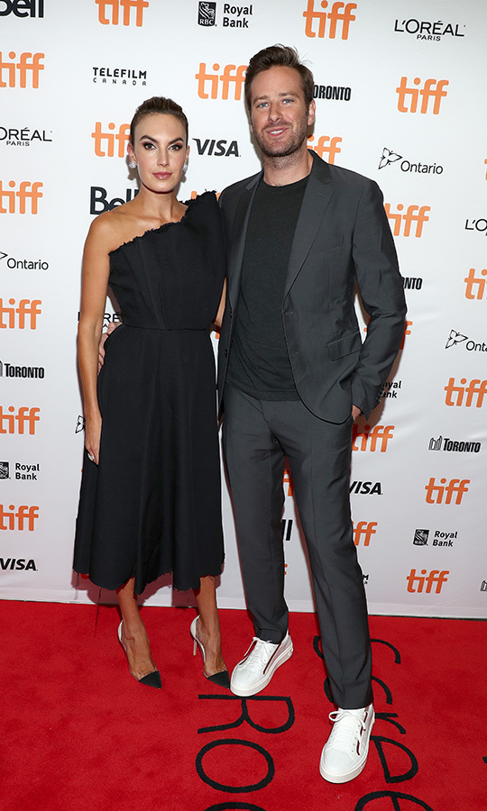 <h2>Elizabeth Chambers and Armie Hammer</h2>