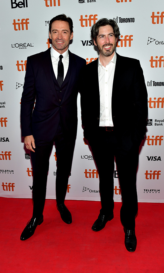 <h2>Hugh Jackman and Jason Reitman</h2>