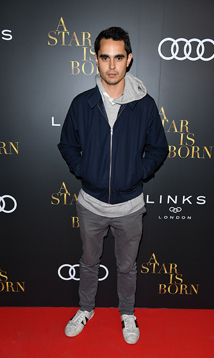 Max Minghella of <em>Handmaid's Tale</em> kept it cool and casual at the Audi Canada party.