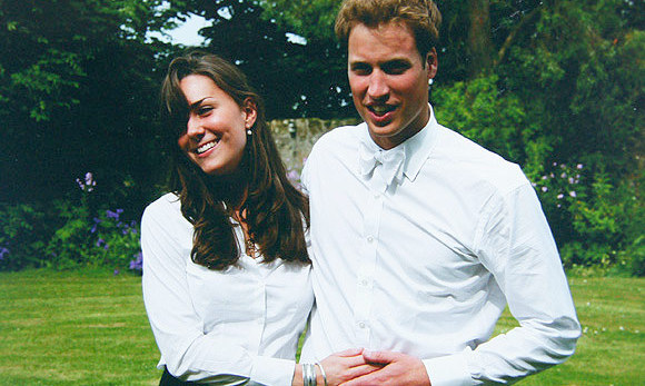 William and Kate's love story blossomed at the University of St. Andrews in 2002. The young royal and his love first crossed paths the previous year, in September 2001, when they arrived to begin their new lives in the Scottish city of Fife. 