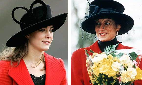 Kate's presence at Will's graduation sparked a media frenzy and engagement rumors refused to die down, as Kate drew comparisons to William's late mother Diana in her elegant red coat and black hat. 