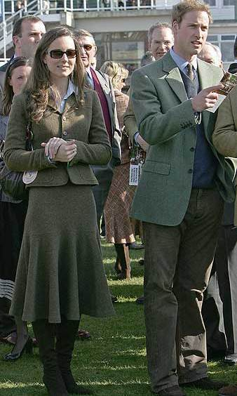 In April 2007, the nation was shocked by swirling reports that the royal couple — pictured here at Cheltenham races just one month earlier — had parted ways. 