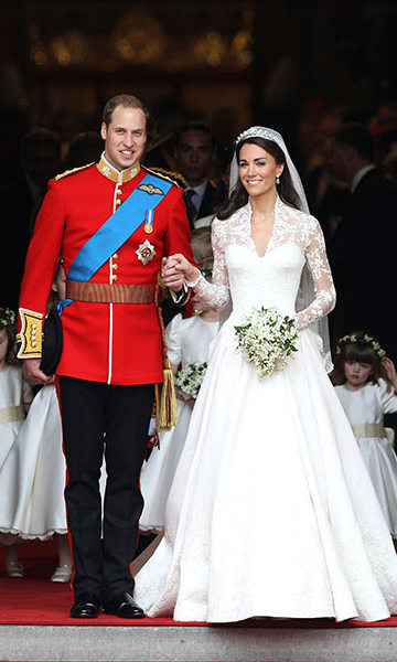 In April 2011, Kate wed her prince charming in a spectacular ceremony at Westminster Abbey. 