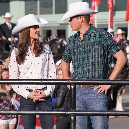 William and Kate made their first official tour overseas as a married couple just two months after they married. The royal couple travelled around the US and Canada for 11 days. 