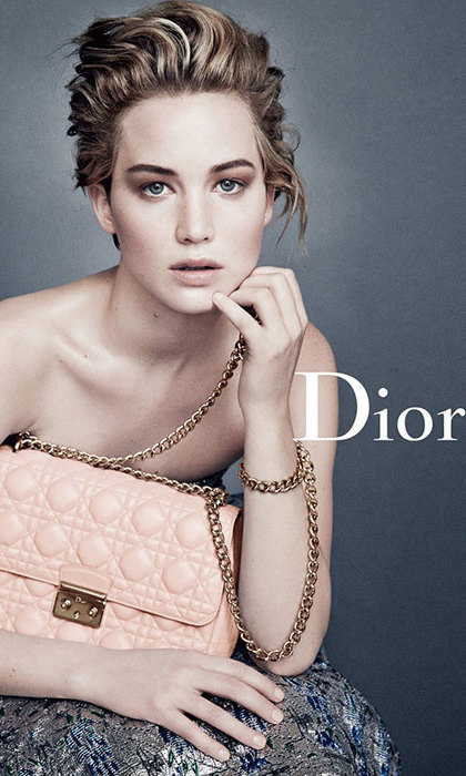 Jennifer Lawrence for Dior in 2014.
