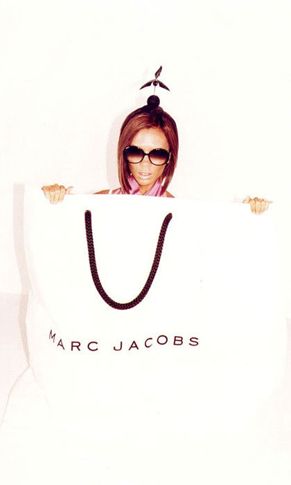 Victoria Beckham for Marc by Marc Jacobs in 2008.