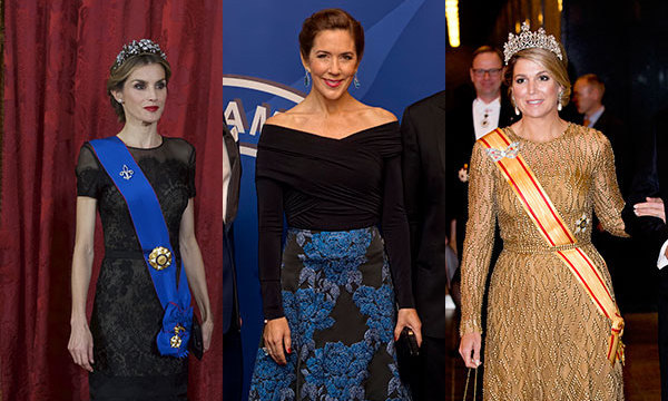 The week\'s best royal style: queens in gowns, chic suits
