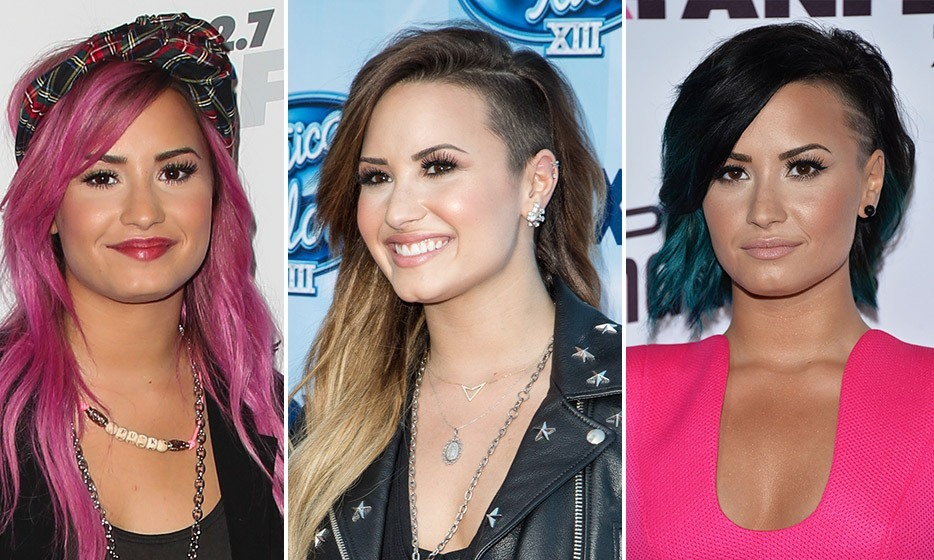 The Best Celebrity Hair Transformations Of 2014 Hello Us