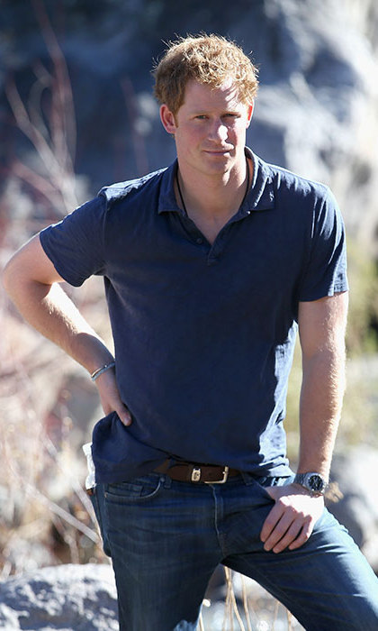 Young Queen Elizabeth Mother Prince Harry: I was 'n...