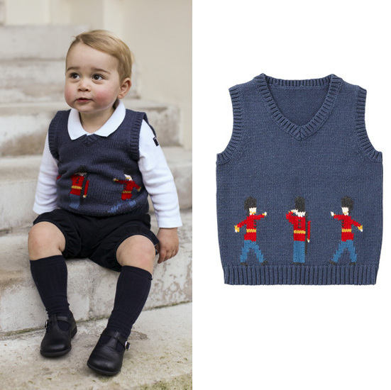The Prince George Effect Litte Royal S Sweater Vest Sold Out