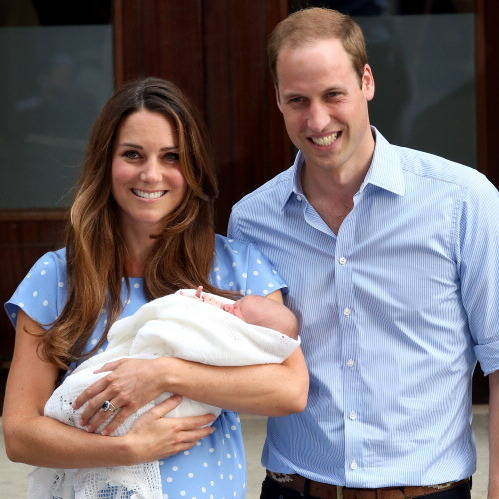 Presenting Prince George to the world, Kate could not contain her happiness — and the feeling was contagious as we collectively oohed and ahhed. 