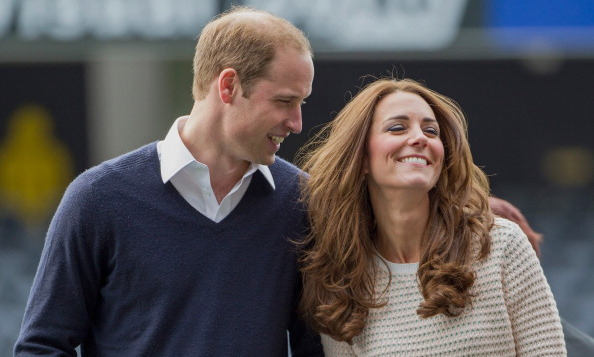 Prince William and wife Kate shared a sweet moment during their trip to New Zealand.
