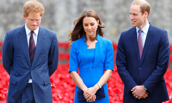 Princes William And Harry And Kate Middleton Are Now