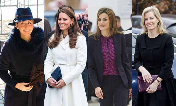 Kate Middleton Queen Letizia Countess Of Wessex The